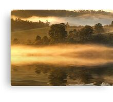 """Morning Mist Reflected"" Canvas Print"