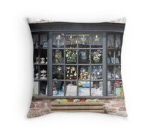 shop window Throw Pillow