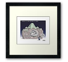 Queen's Park Smart Meter Framed Print