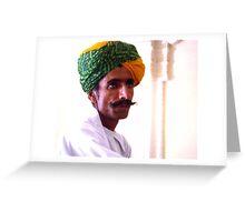 Rajastan Man Greeting Card