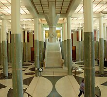 The Great Hall - Parliament House Canberra -ACT by Jeanette Harrison