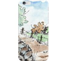 A beautiful fence iPhone Case/Skin