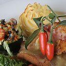 Chicken Dish 03 by Aden Brown