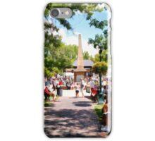 The Plaza Santa Fe New Mexico iPhone Case/Skin