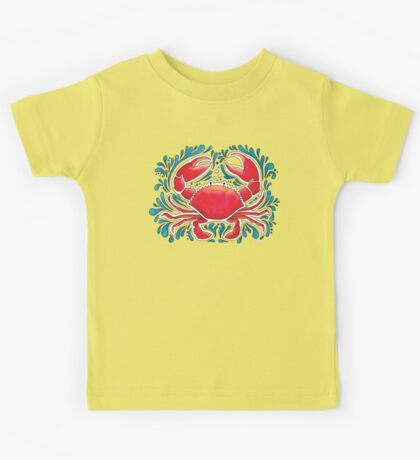 Red Crab  Kids Tee