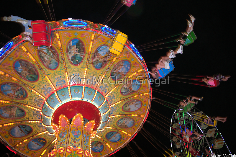 Swing Ride in Action by Kim McClain Gregal