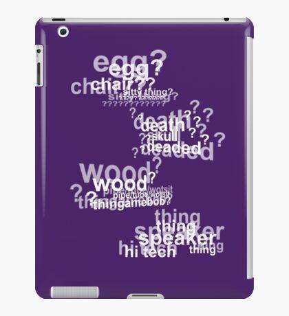 Drunk Deductions iPad Case/Skin