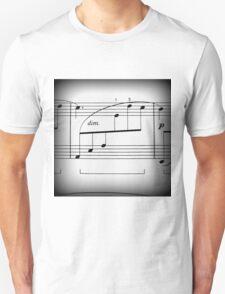 A few notes  Unisex T-Shirt