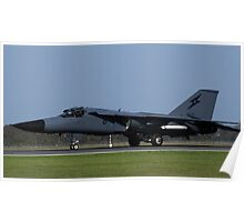 F-111 Taxiing Poster