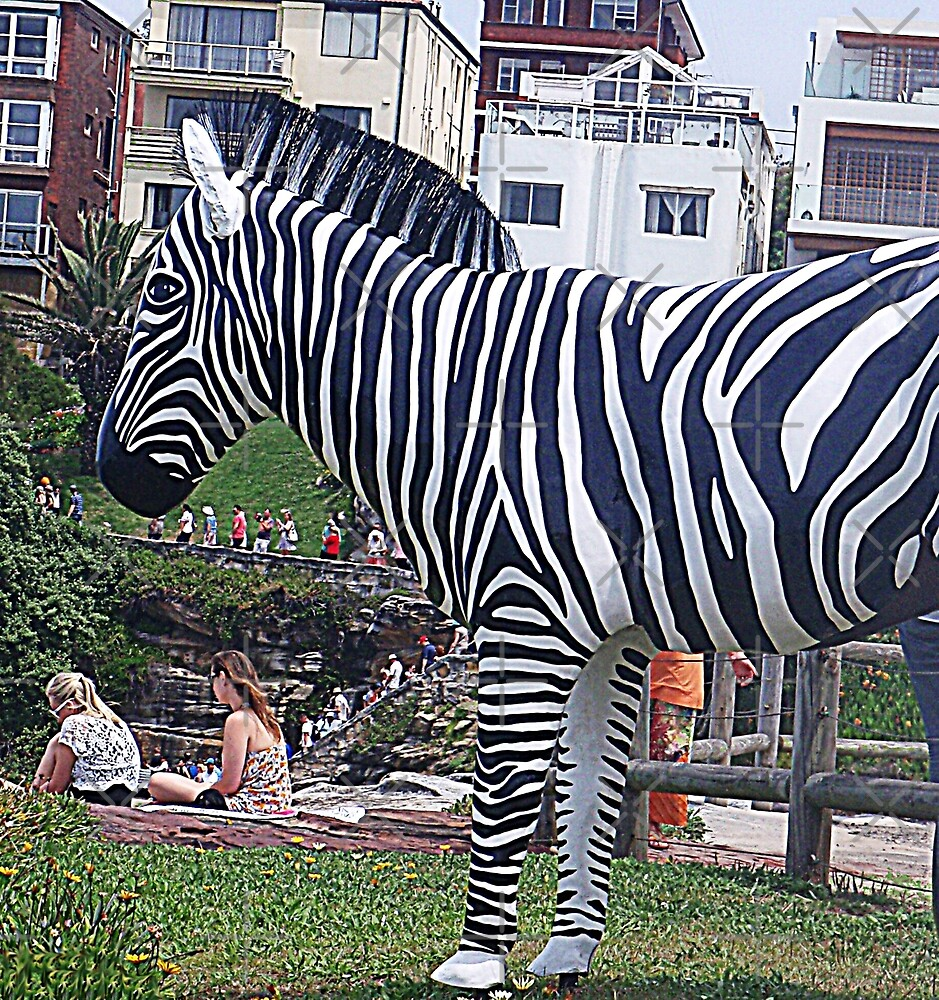 Zebra but not in a Zoo by KazM