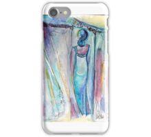 Femme de dos - aquarelle iPhone Case/Skin