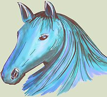 Horse Mane 2 by Thecla Correya