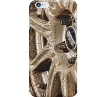 Muddy Wheels Are Happy Wheels iPhone Case/Skin