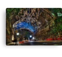 The Argyle Cut Rocklights Canvas Print