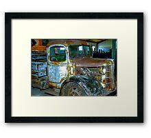 Old Truck. Framed Print