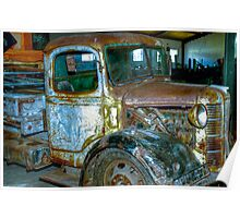 Old Truck. Poster