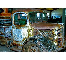 Old Truck. Photographic Print