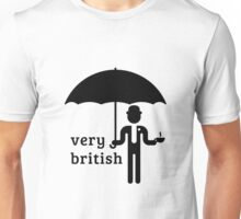 Very British Gentleman (1C) Unisex T-Shirt
