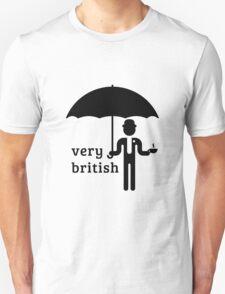Very British Gentleman (1C) T-Shirt