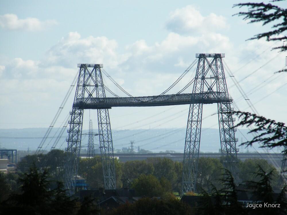 Transporter Bridge Newport by Joyce Knorz