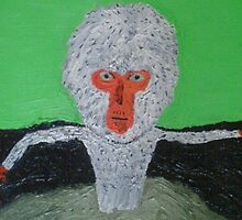 mudbath monkey by daveloftus