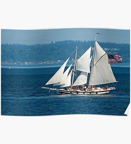Sails Set & Full Poster