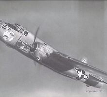B-25 Mitchell Bomber by John Reardon