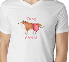 Foxy Pants Mens V-Neck T-Shirt