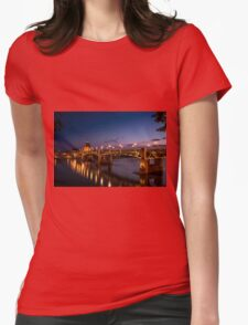 Toulouse Bridge 1 Womens Fitted T-Shirt