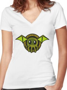 Cthulhu Est. 1926 Women's Fitted V-Neck T-Shirt