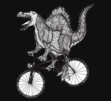 Spinosaurus Aztec Bicycle Kids Clothes