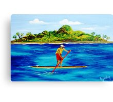 Meet Kahuna Rocky Canvas Print