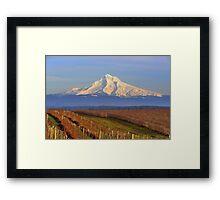 Mt.Hood ( Boring, OR) Framed Print