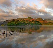 Lake Derwent Morning Light by leephotoofyork