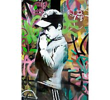 Banksy Prayer Photographic Print