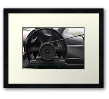 Rhythm of steam machinery Framed Print