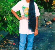 Guyana country girl by Jerry Clitty