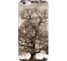 My Family Tree - is full of nuts iPhone Case/Skin
