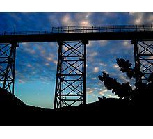 Amarube Iron Bridge Photographic Print