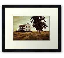 Autumn Abandonment Framed Print