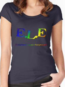 E.L.E. (Everybody Love Everybody) Women's Fitted Scoop T-Shirt