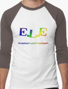 E.L.E. (Everybody Love Everybody) Men's Baseball ¾ T-Shirt