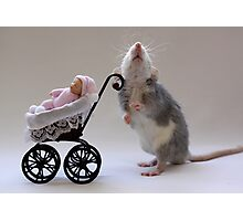 A real babysitter :) Photographic Print