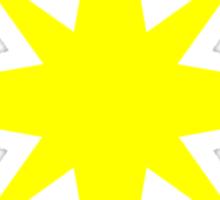 Captain Marvel Star Sticker