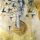 """I am half sick of shadows""  by Patricia Ariel"