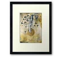 """I am half sick of shadows""  Framed Print"