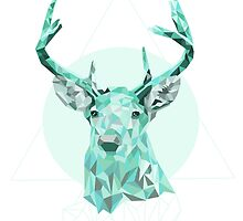Blue Deer by roxycolor