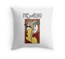 First of Her Name (Game of Thrones Shirt) Throw Pillow