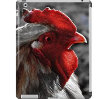Red Rooster color select iPad Case/Skin