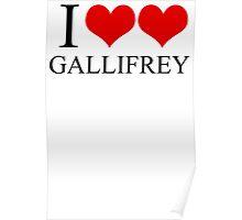 I Heart Heart Gallifrey Poster